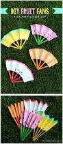 19 easy to make summer crafts for kids fans craft and summer crafts
