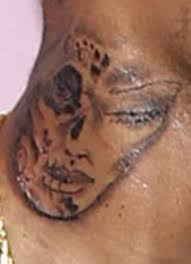chris brown claims neck tattoo is inspired by day of the dead