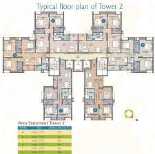 Waterfront Floor Plans by Merlin Waterfront By Merlin Group In Howrah Kolkata Price