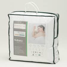 Single Bed Duvet 400t C Luxurious Natural Silk Microfibre Filled Double Bed Duvet