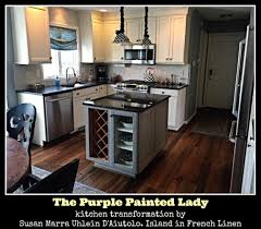 How To Choose An Accent Wall by Kitchen Cabinet The Purple Painted Lady
