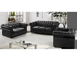 half leather sofa set 44l5953