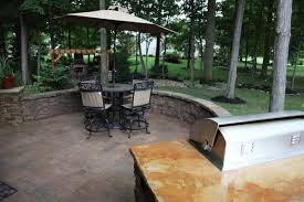 Retaining Wall Patio Klein U0027s Lawn U0026 Landscaping Hardscapes Patios