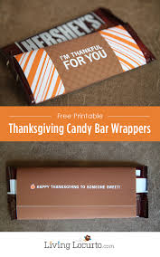 thanksgiving candy bar wrappers free printable
