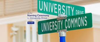 Ub North Campus Map Naming Ceremony For University Drive And University Commons
