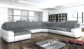 beau canapé beau canapé d angle gris blanc idées de décoration