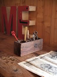 Wood Desk Organizer by Desk Organizer Of Teak Wood 25x10x12cm