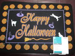 halloween door mats page two halloween wikii
