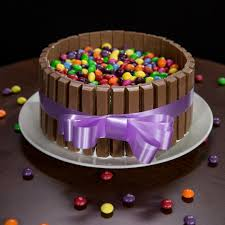 so delicious kit kat and skittles cake recipe