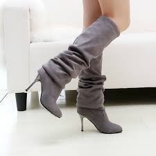 womens boots in the sale sale fashion boots for nubuck leather stovepipe