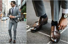 light gray suit brown shoes what shoes to wear with your grey suit