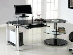 long modern desk magnificent long l shaped desk photos large size