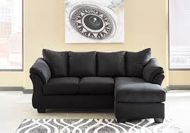 Overstock Chaise Darcy Black Sofa Chaise Lexington Overstock Warehouse