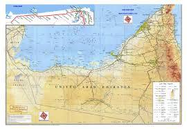 arab map maps of united arab emirates detailed map of uae in