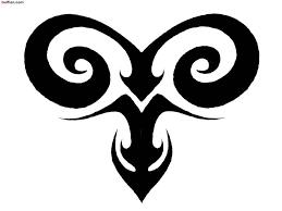 brilliant aries zodiac tattoo stencil golfian com