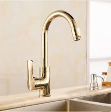 Antique Brass Kitchen Faucet Antique Brass Rotatable Golden Mixer Kitchen Faucet Ta139g