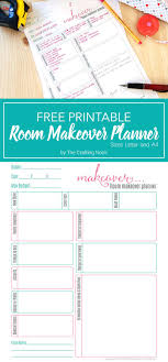 room planners free room makeover planner printable planners room and free