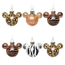mickey mouse icon ornament set animal shopdisney