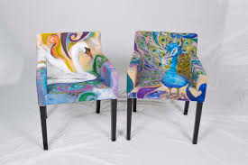 Painting Fabric Upholstery Furniture Trendy Dining Room Chair Upholstery Fabric Nz Dining