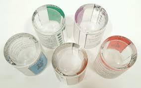 80s Trivial Pursuit Vintage 80 U0027s Trivial Pursuit Glass Tumblers Set Of 5 Party Glasses