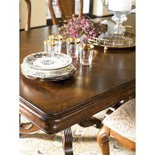 henkel harris dining room thomasville ernest hemingway castillian double pedestal table