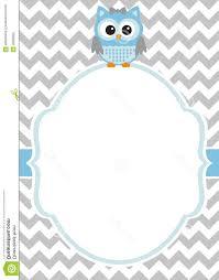 best free baby shower boy invitation card template white frame
