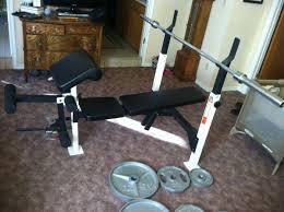 Weider Pro Bench Weider Pro 455 Weight Bench Weights Bar 180 Fort Worth