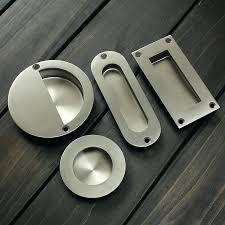 Recessed Closet Door Pulls Flush Closet Door Pulls Stainless Steel Door Handle Flush