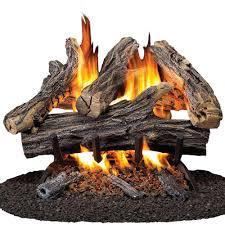 fireplace log binhminh decoration