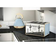 Blue 4 Slice Toaster Buy Swan Retro St17010bln 4 Slice Toaster Blue Free Delivery