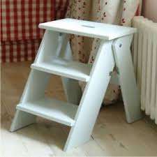wooden folding step stool 46cm tall code stcl01 ebay