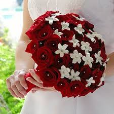 Red Wedding Bouquets 90 Best Red White And Black Wedding Flowers Images On Pinterest