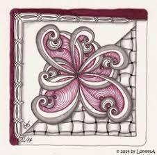zentangle pattern trio alice adamic aliceadamic on pinterest