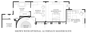 Master Bedroom Suites Floor Plans Pipers Glen The Brothers Home Design