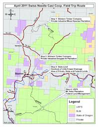 Oregon Blm Maps by Sncc Spring Field Trip April 28th 2011 Swiss Needle Cast