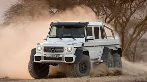 mercedes g class 6x6 the largest and most road suv mercedes g class