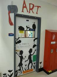teaching instyle drug free door decorating i never could find an