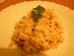 chou cuisine purée au chou fleur et jambon blanc tour en cuisine rapide n 96