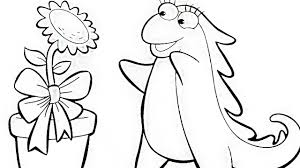 dora the explorer iguana iza and flower coloring book pages videos