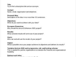 proposal template design project proposal quotation template