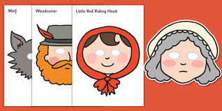 red riding hood role play masks red riding hood