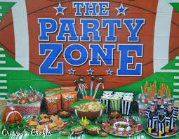 party city halloween crafts crissy u0027s crafts superbowl party ideas