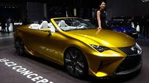 lexus lf lc production date 2016 lexus lf c2 concept 2015 geneva motor show youtube
