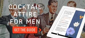 cocktail attire for men dress code guide for weddings u0026 events