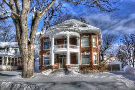 free images tree snow winter architecture mansion house