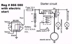 rotax 503 charging system