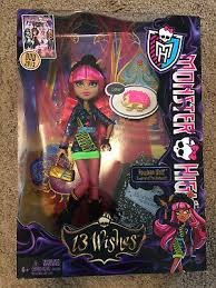 Howleen Wolf 13 Wishes 8 Monster High 13 Wishes Doll Gigi Grant Howleen Wolf Clawdeen