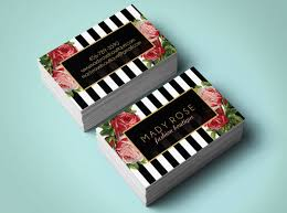 floral business card 20 floral business cards free premium templates