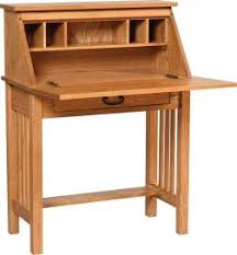 Secretarys Desk Solid Wood Desks Countryside Amish Furniture