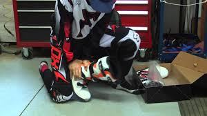 motocross boots how to break in new motocross boots youtube